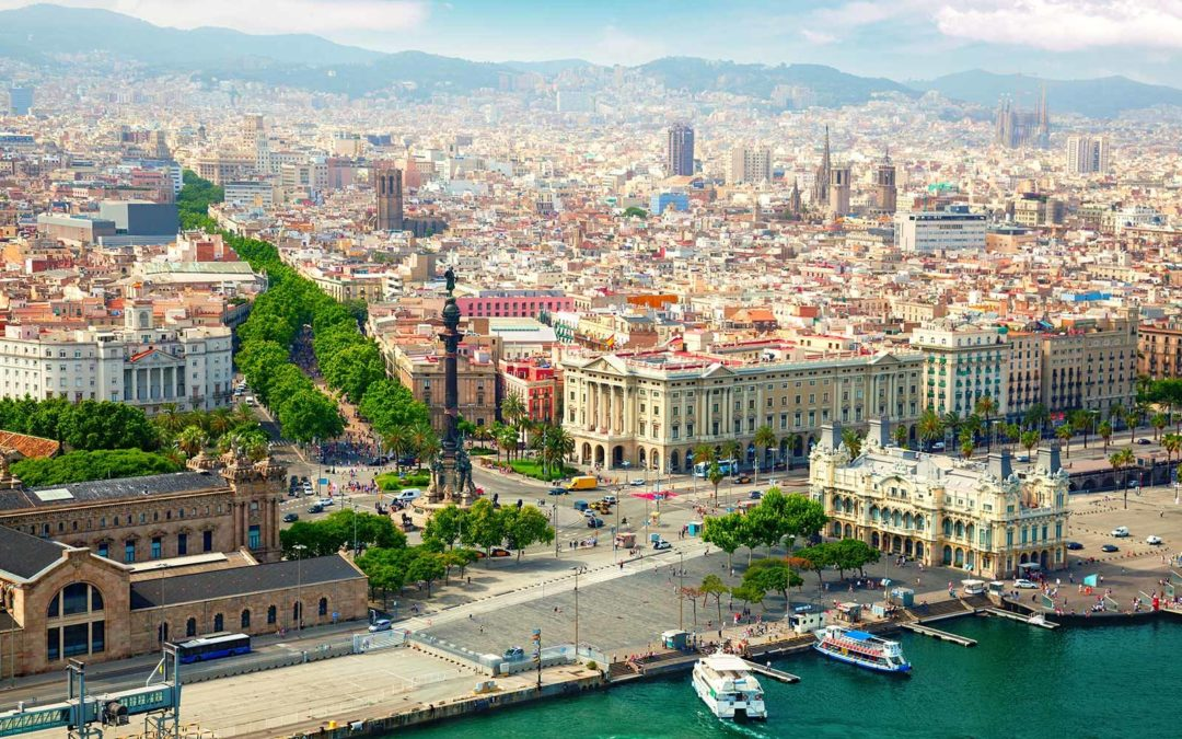 barcelona spain waterfront