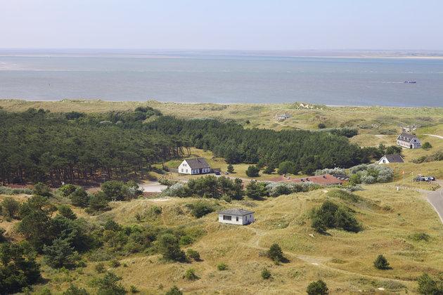 Hostel zee overzicht