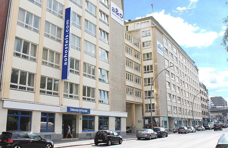 A&O Hamburg City Außenansicht