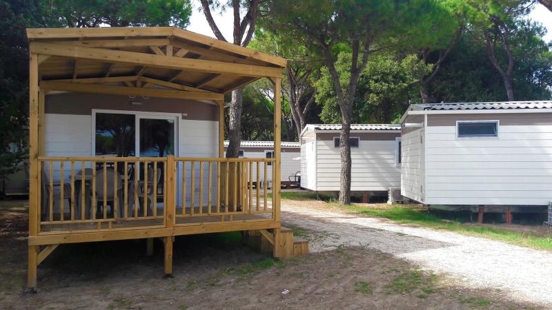 Bungalow, jesolo camping village, Venedig, Italien
