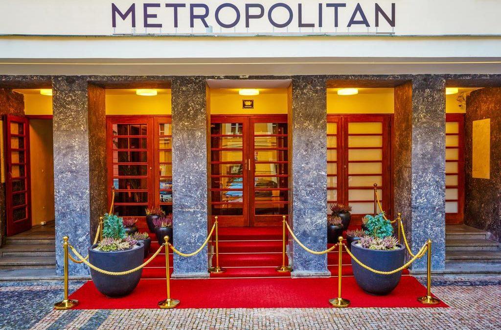 *** Hotel Metropolitan, Klassenfahrt Prag, Tschechien