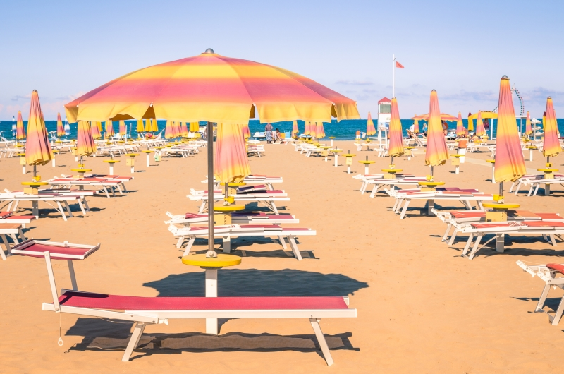 Italian Beach - Rimini style, Hotel TV