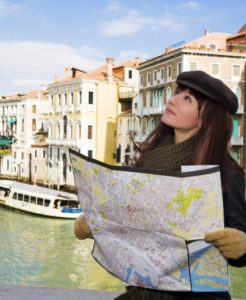 Venedig, Italien, tourist attractions: this girl got lost in Venice
