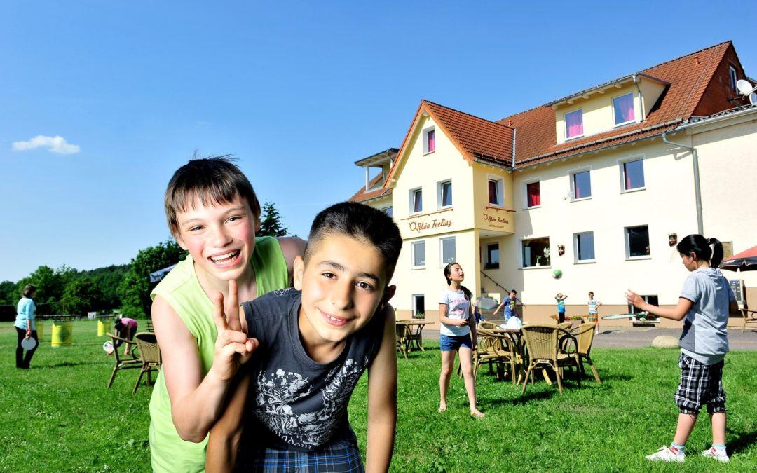"""Hotel mit Kids, Jugend-Freizeithotel """"Rhön Feeling"""""""