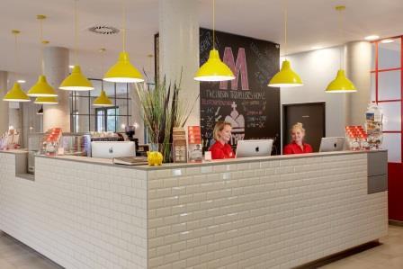 MEININGER Hotel Wien Downtown Franz Reception