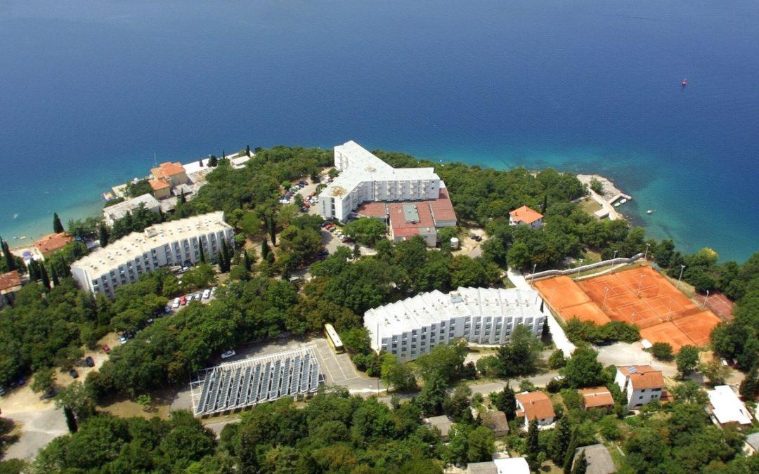 Hotel Adriatic Luftbild