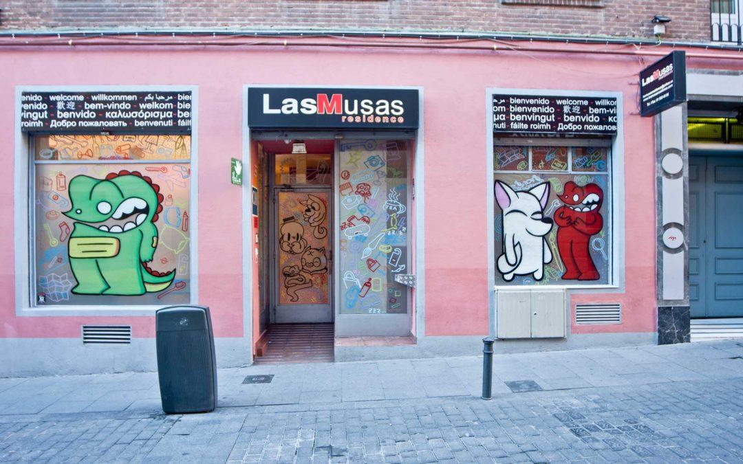 Hostel Las Musas Madrid Spanien