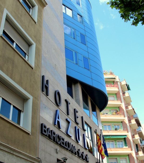 Hotel Azul, Barcelona, Spanien