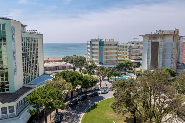 Hotel alla Rotonda, Lido di Jesolo, Venezianische Küste, Italien