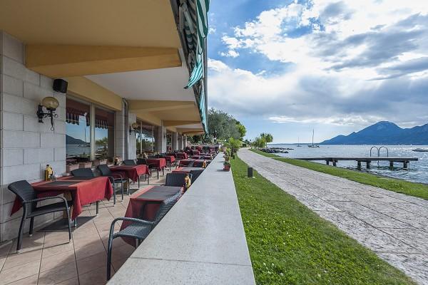 ** Hotel Nettuno bei Brenzone sul Garda, Italien, Gardasee