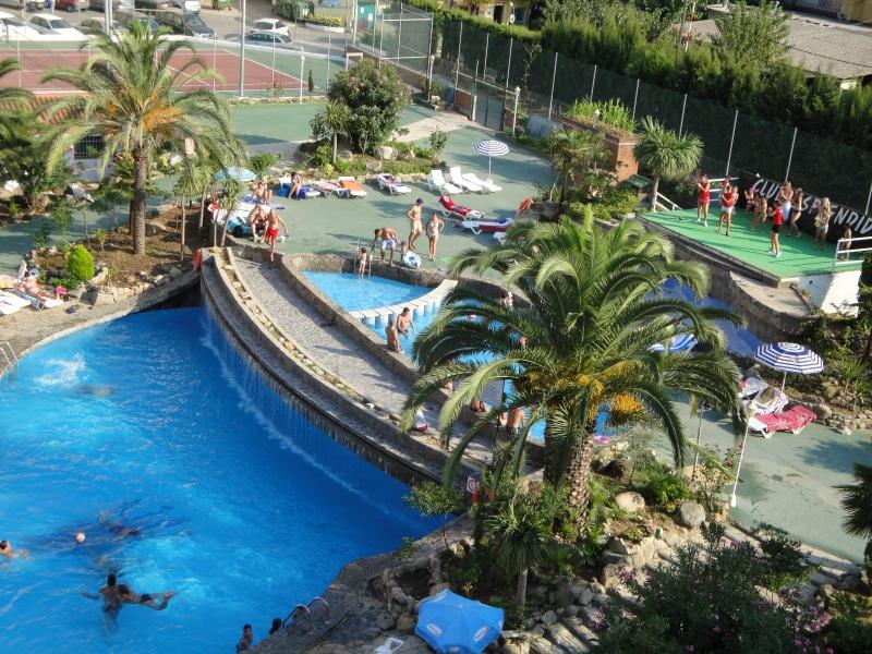 Hotel Esplendid, Costa Brava, Spanien