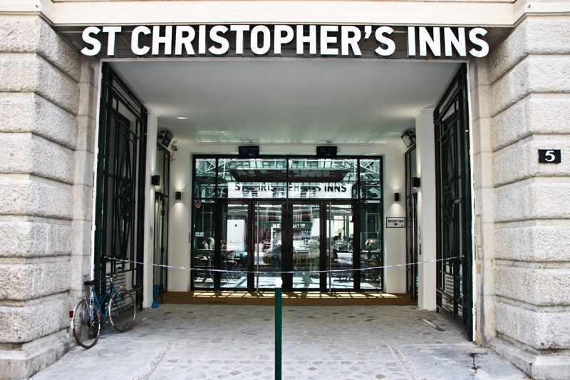St. Christopher's Inn Paris Gare du Nord, Paris, Frankreich