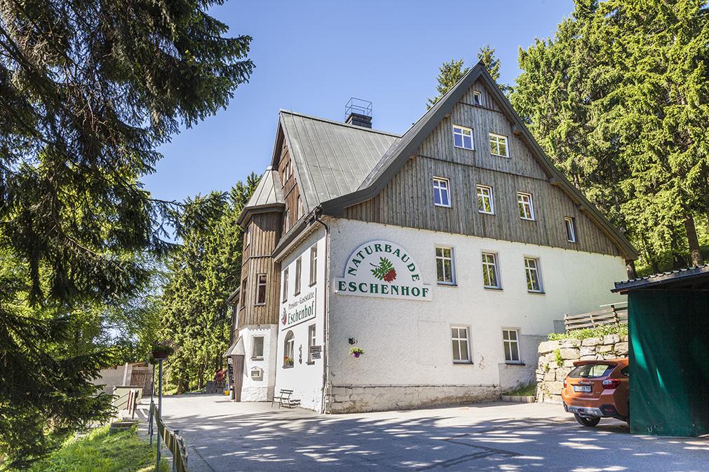 Naturbaude Eschenhof Oberwiesenthal Erzgebirge