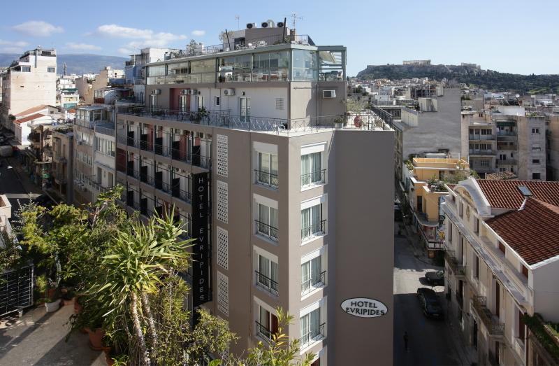Hotel Evripides Athen Griechenland